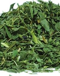Alfa tea leaves