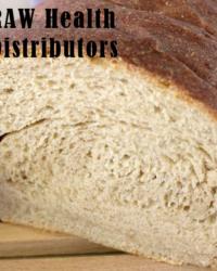 Raw health ricotta bread