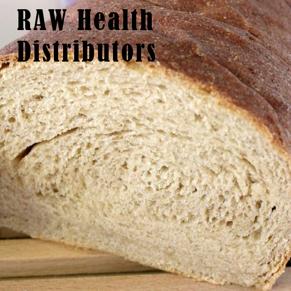 Raw health ricotta bread
