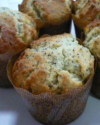 orange poppy seed muffins