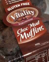 Choc mud muffins