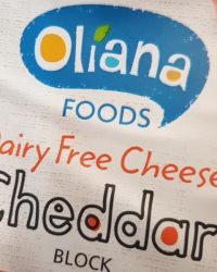 Oliana dairy free cheddar block