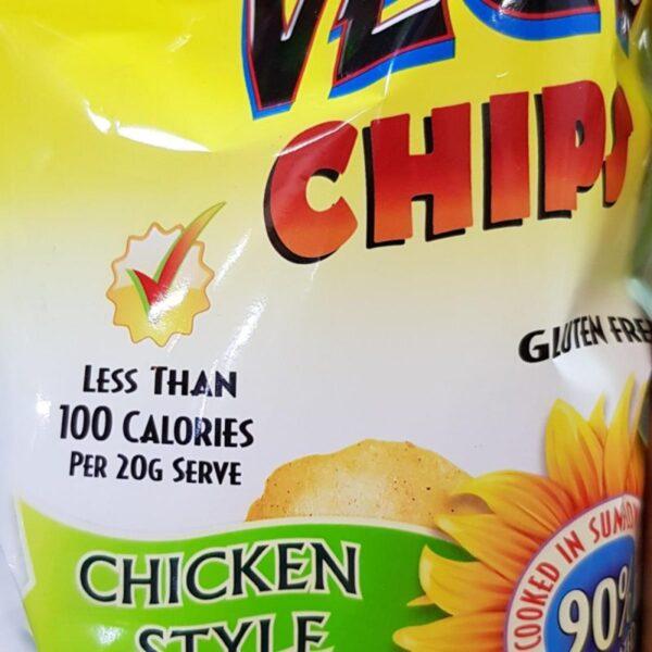 Vegie chips chicken