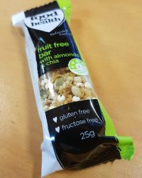 Food for Health Snack Bars - Fruit Free Bar with Almond and Chia