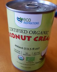 Eco Inspirations Organic Coconut Cream