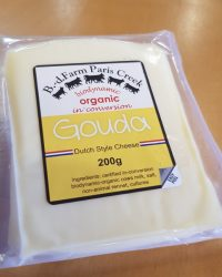 Gouda cheese Paris Creek