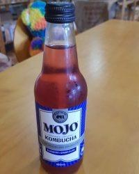 Mojo organic kombucha blueberry and ginger bliss