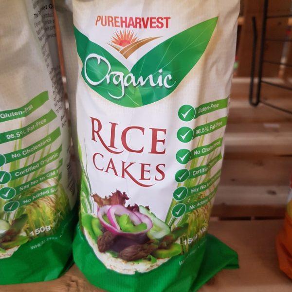 Pure Harvest Organic Rice Cakes