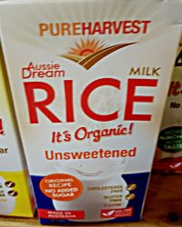 Pure Harvest Rice milk