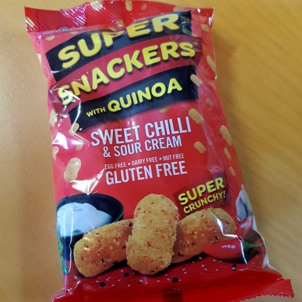 Super Snackers with Sweet Chilli and Sour Cream