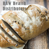Raw health olive bread
