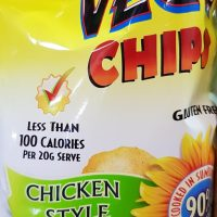 Vegie chips chicken