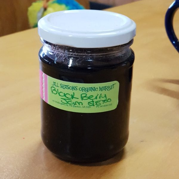 Blackberry Jam home made